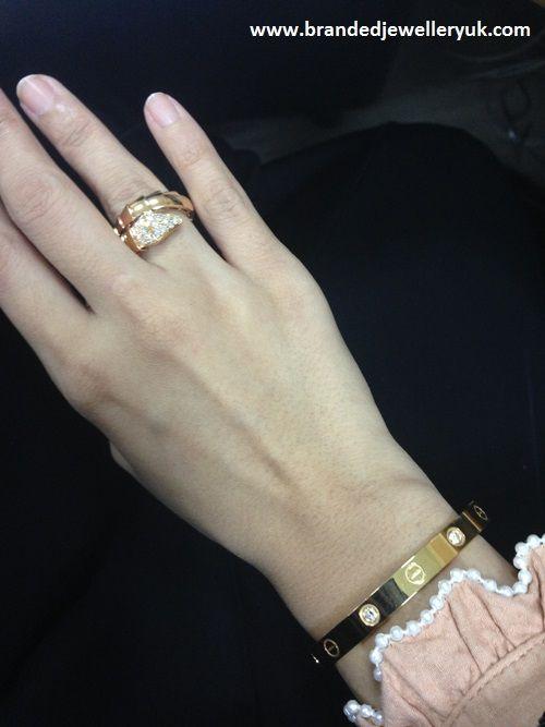 b zero 1 pink gold pendant