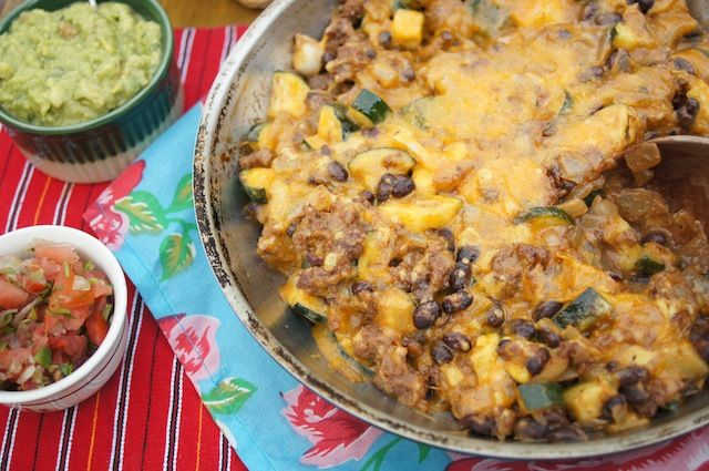Cheesy Tex Mex Skillet Supper | Recipe | Tex Mex, Skillets and Suppers
