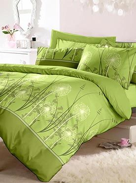 The soothing shades of green and earthy brown will make you feel like you are in the lap of mother nature. The 100% cotton fabric offers optimum comfort and luxury. Its premium quality ensures that the colours will remain vibrant after multiple washes. You will feel cared for and comforted every time you slip under the sheets. The look, feel, and quality makes this set a complete package. Info