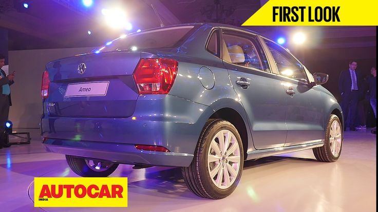 Polo-based compact sedan has been designed and developed solely for the Indian market. Here's our first look video.