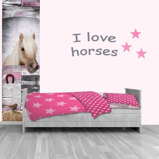 25 beste ideeà n over paard slaapkamers op pinterest