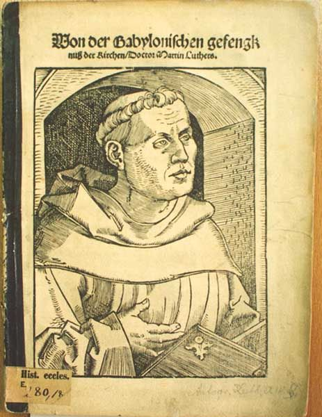 The Manifesto of the Reformation - August 1520 Martin Luther's 'On the Babylonian Captivity of the Church,' in which he criticizes the seven sacraments of the Catholic Church, was the second of three treatises published by Luther in 1520 which became manifestos for the Reformation.