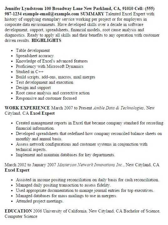 80 Beautiful Gallery Of Sample Resume Fresher Computer Science