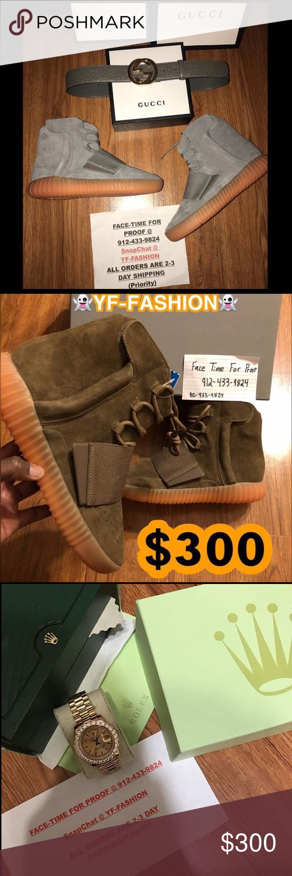 🔥👀MULTIPLE ITEMS POSTED👀👀VIEW ALL PICS💯💯 🔌I HAVE MORE ITEMS THEN WHATS POSTED 👻SnapChat: YF-Fashion  🔌text or call me @912-433-9824  (text me for the LINK TO MY SITE) 🔌FaceTime For Proof  🔌CONTACT ME BEFORE PAYING  🔌100% Authentic Items  🔌Priority Shipping (2 Days)  🔌912-433-9824 ‼️I DO NOT SALE OVER POSH‼️ Yeezy Shoes Sneakers