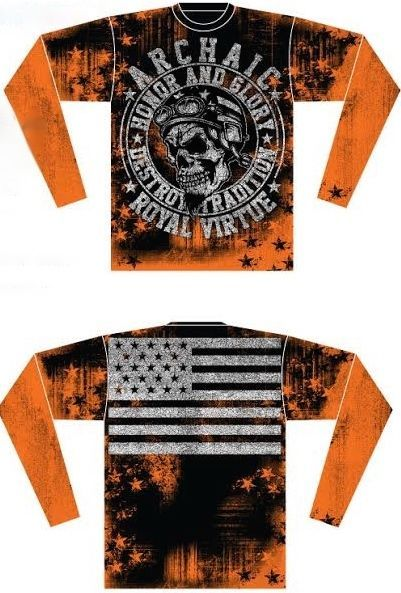 Archaic AFFLICTION Mens THERMAL T-Shirt RACER American Customs Biker M-3XL $58 a #Affliction #GraphicTee