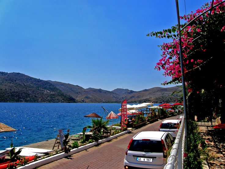 Bozburun near Marmaris.  Untouched piece(peace) of heaven.   Best place to relax (especially with children as You dont need to attend them....) Picture fro Yılmaz Kaptan Pansiyon