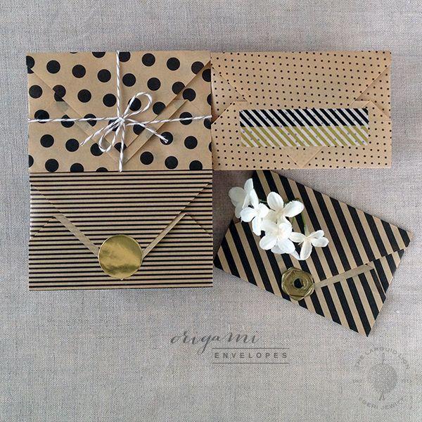 origami envelopes