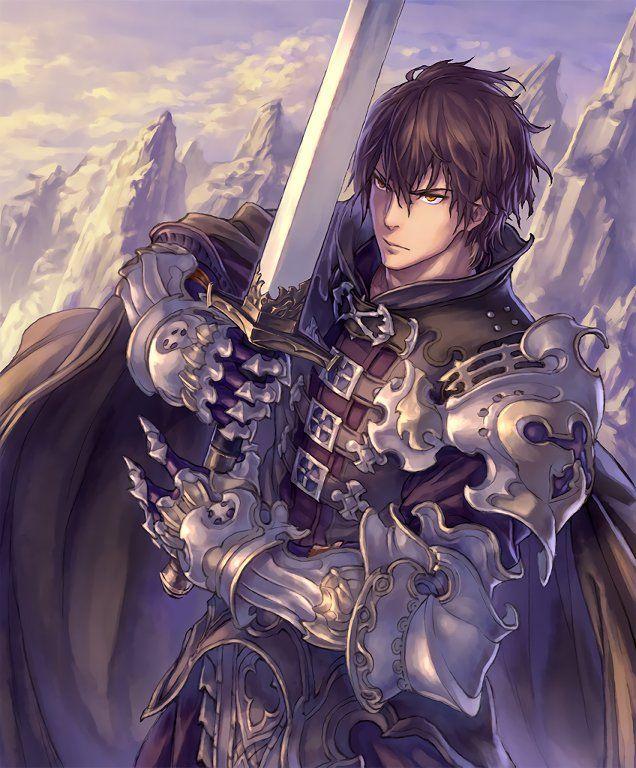 Gauntlet Of Siegfried : gauntlet, siegfried, Card:, Siegfried, Fantasy, Character, Design,, Anime, Warrior