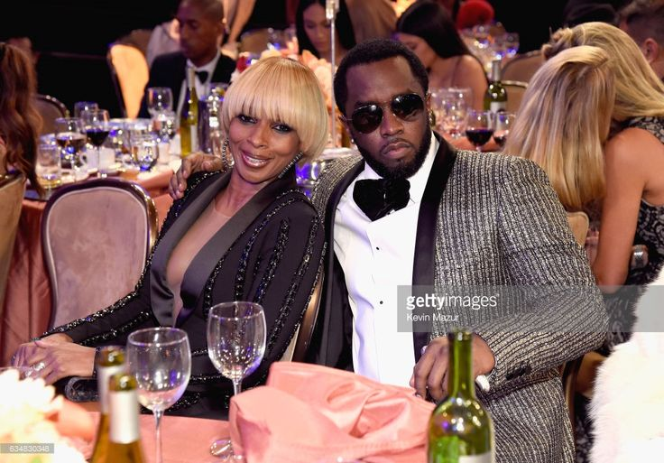 Mary J Blige and Sean Combs attend Pre-GRAMMY Gala and Salute to Industry Icons Honoring Debra Lee at The Beverly Hilton on February 11, 2017 in Los Angeles, California.