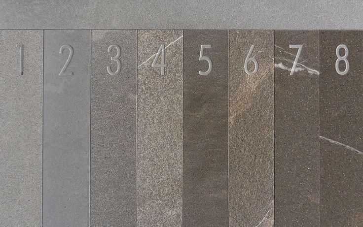 Die Innovation: 4mm - Naturstein für den Innenbereich, daneben alle Steinbearbeitungen traditioneller Steinbautechnik für den Außenbereich - frostbeständiger Kalzit - alle Oberflächenbearbeitungen - ungeahnte Möglichkeiten - http://kalzit.premiumstone.eu/html/oberflachen.html