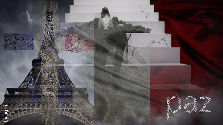 Photo: Dedicado a todas las victimas y familiares que han sufrido el ataque terrorista en Paris... Dedicated to all the victims and families who have suffered the terrorist attack in Paris...  PAZ.-