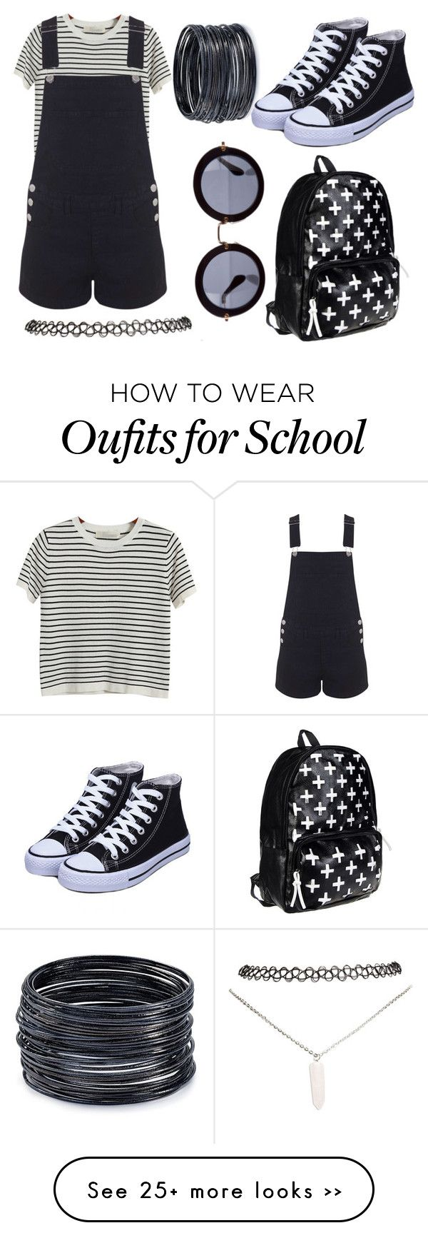 """school wear #11"" by alexfred on Polyvore featuring moda, Chicnova Fashion, Miss Selfridge, ABS by Allen Schwartz, Wet Seal e Miu Miu"