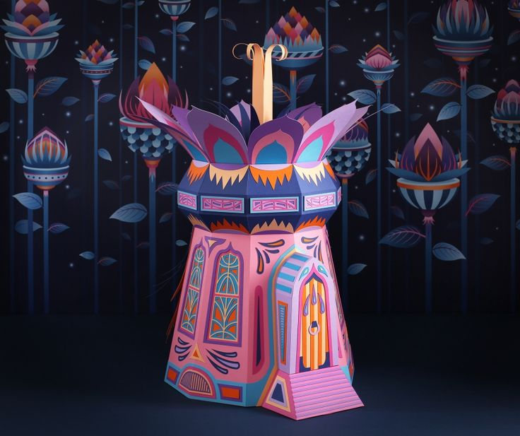 Forest Folks: Zim & Zou craft out-of-this-world paper woodland for new Hermès store in Dubai | Creative Boom