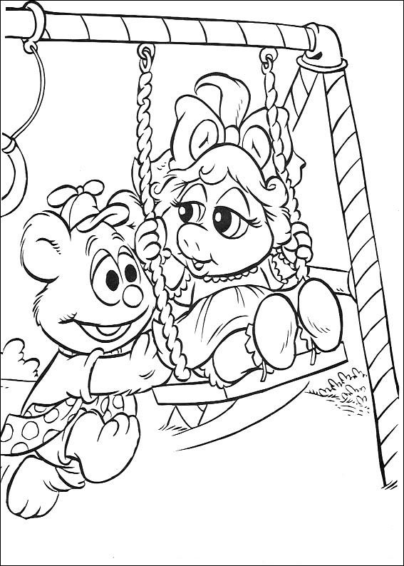 Muppets Printable Coloring Book 28 Baby Coloring Pages Disney