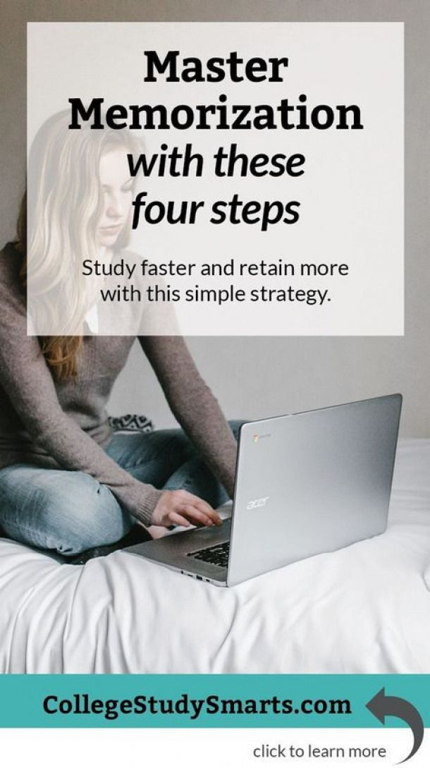 master memorization with these four steps | study faster and