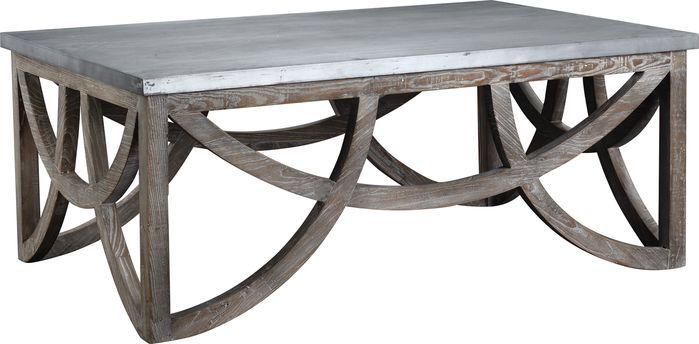 Aimee Reclaimed Wood Coffee Table