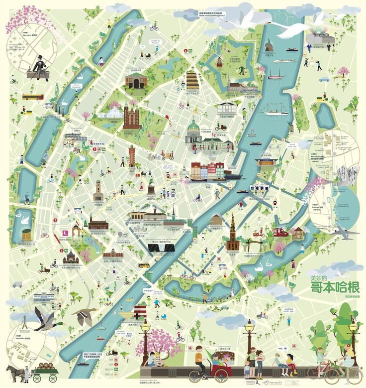 Copenhagen City Map | Visitcopenhagen
