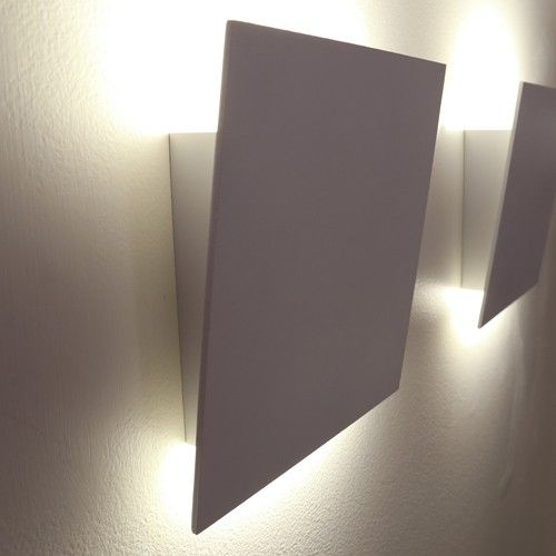 Angled Plane Led Wall Sconce Lighting Pinterest Sconces And