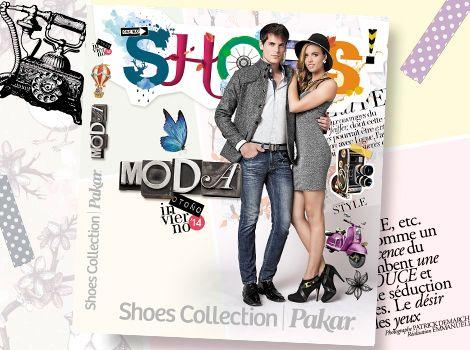 Catálogo moda Shoes Collection Pakar otoño invierno 2014.