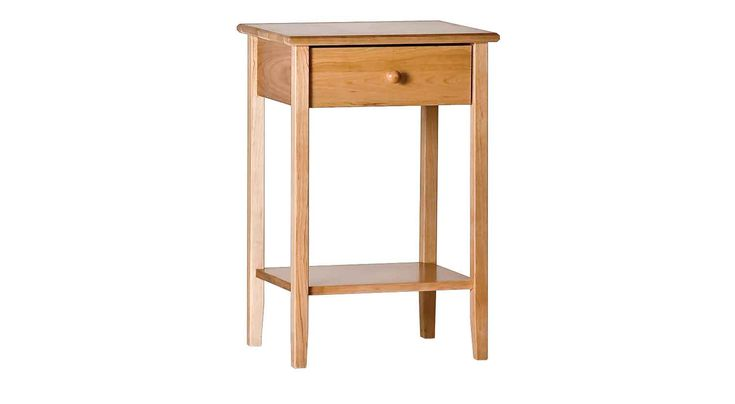 Painting of Tall Accent Table, A Stylish Item for Utilizing the Empty Space