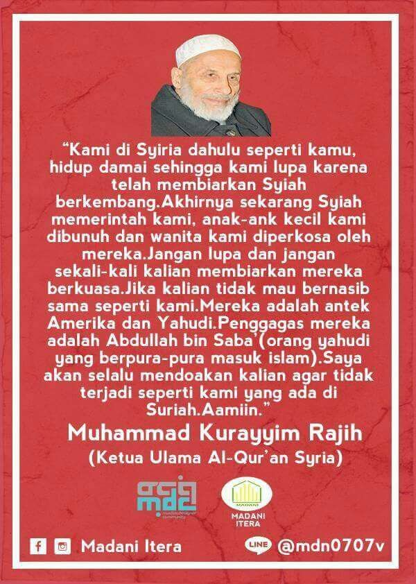 BAHAYA SYIAH (Muhammad Kurayyim Rajih)