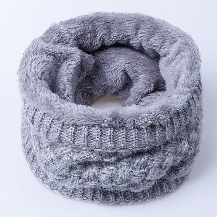2016 New Fashion Wanita Scarf Unisex Musim Dingin Rajutan Syal Ditambah Beludru Katun Leher Warmer Wanita Crochet Cincin Pria Loop Scarf