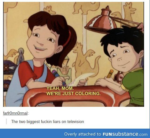 Dragon tales: teaching kids to lie since... whenever it was made