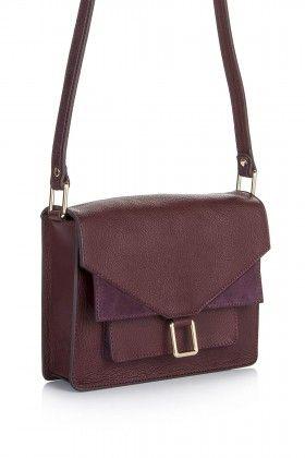 Hitt Bag Luna Saddle Bag Bordo Çanta: Lidyana.com