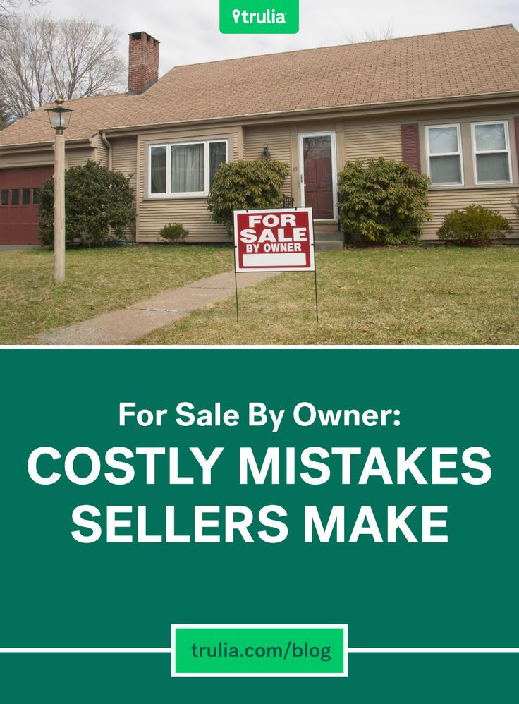 For Sale By Owner: 8 Costly Mistakes Sellers Make  MyFSBOcoach.com #fsbo #fsbotips