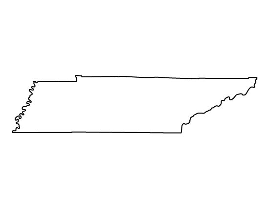 tennessee state outline