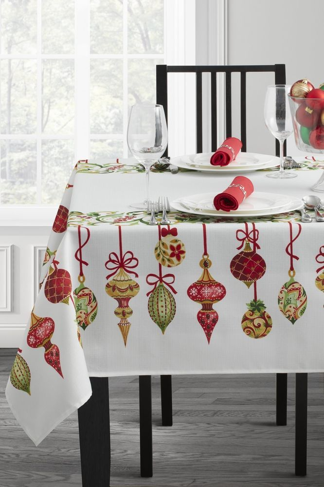 Christmas Sequin Tablecloth Sequin Holiday Table Overlay Square