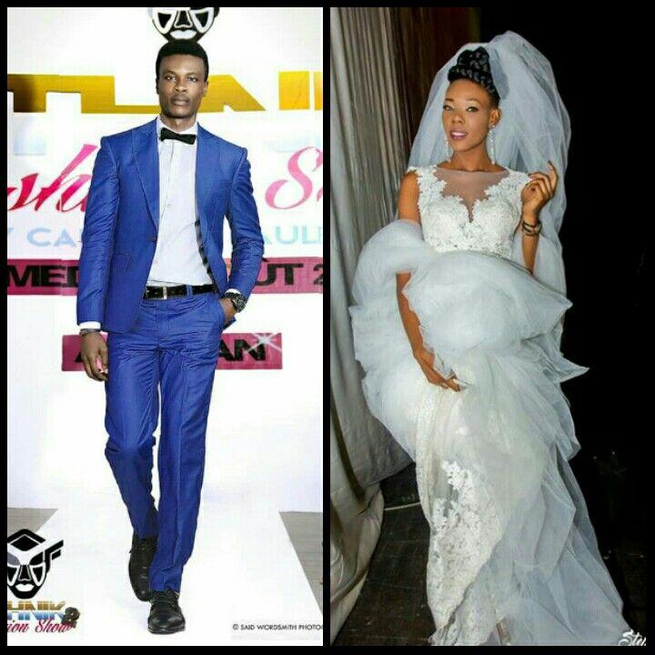 Veste bleu : Carlos desaules Robe de marié : Reda Fawaz  melange assez plaisant.  beau mariage a vous 💗💗💗💗