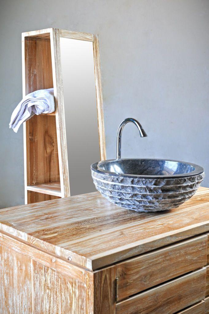 Раковина, мрамор, с острова Бали, Индонезия, натуральный камень, интерьер для ванной комнаты, эко-дизайн, Marble black sink, Natural stone, bathroom interior design, eco-design, Bali, Indonesia