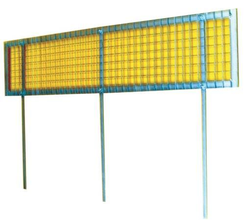 Buy Snow Guards - 1000mm x 230mm - Roof devices that help stop snowslides, the dangerous movement of snow and ice, by allowing it to melt completely or drop off in small amounts. http://www.rapidtoolsdirect.co.uk/category/roofing-tools