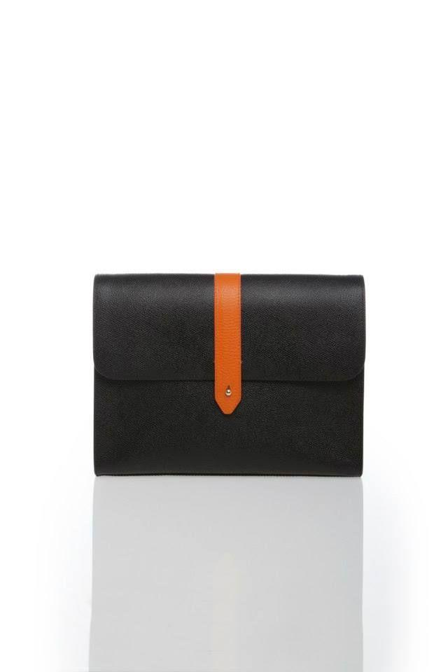 Ami Onyx Black Clutch www.akichoklat.com | Aki Choklat | #luxurybag #unisexc #clutch