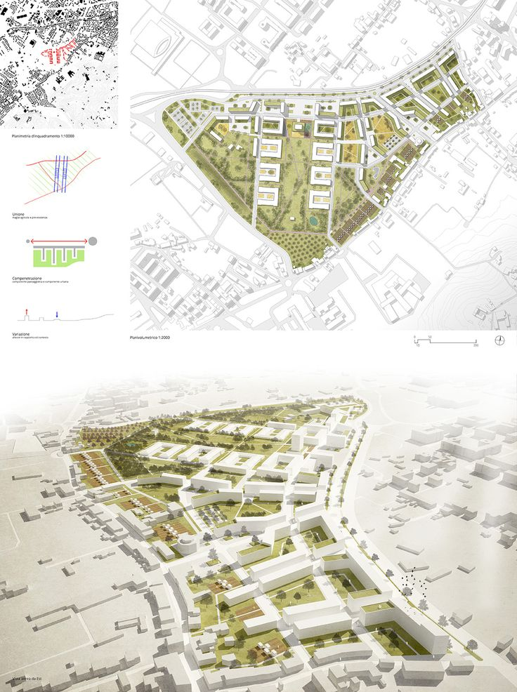 Masterplan firenze scandicci area ex caserma lupi di for Area landscape architects