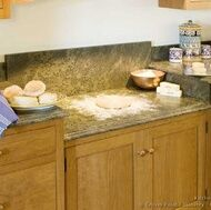 Countertop Height For Baking : granite baking area with lowered counter for kneading! My mum has done ...