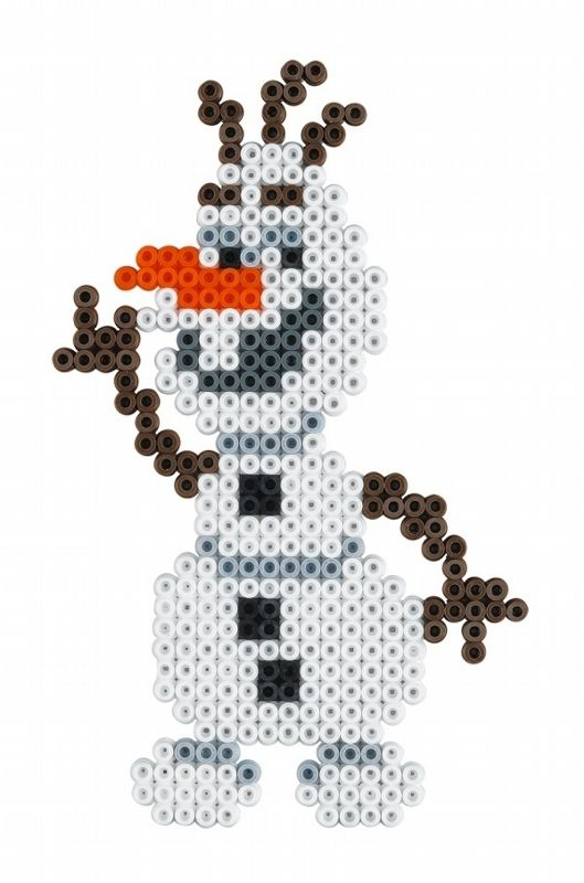 Olaf - Disney Frozen Large Gift Set Hama Beads 7946