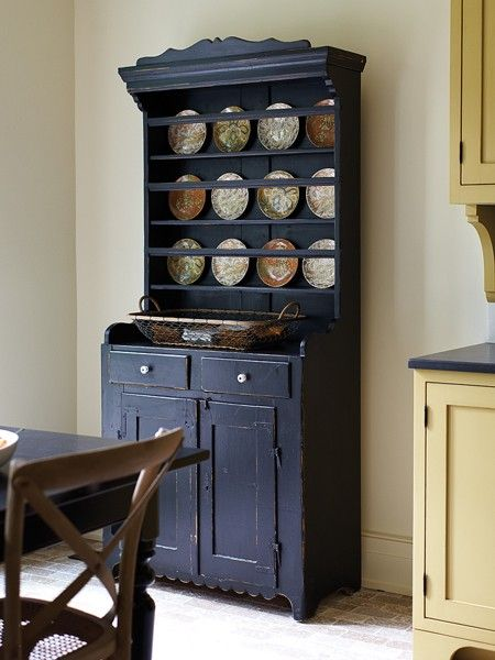 midnight #blue  All things Midnight Blue  Pinterest  Kitchen Hutch
