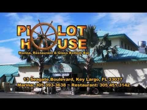 PILOT HOUSE MARINA, RESTAURANT & GLASSBOTTOM BAR IS ON WEYW 19, THE KEYS HOMETOWN TV STATION.