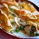 Foto recept: Kip en groenten in filodeeg