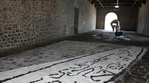 Art Show by MASSIMO MAZZONE, EMILIO CEJALVO, PEDRO HORMIGO @ SES SALINES / Almazen de la Sal – Eivissa