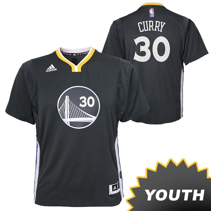 Get in the game with this adidas Youth Slate Alternate Swingman Stephen Curry #30 Golden State Warriors Jersey - the latest in style and design. Designed by adidas, the Warriors Slate Alternate short-sleeve uniforms feature a new color for the NBA - slate - which was added to the team's identity beginning in the 2014-15 Championship season. Slate represents not only the technology and innovation synonymous with the Bay Area, but also the body armor for the team on the court. The jersey…