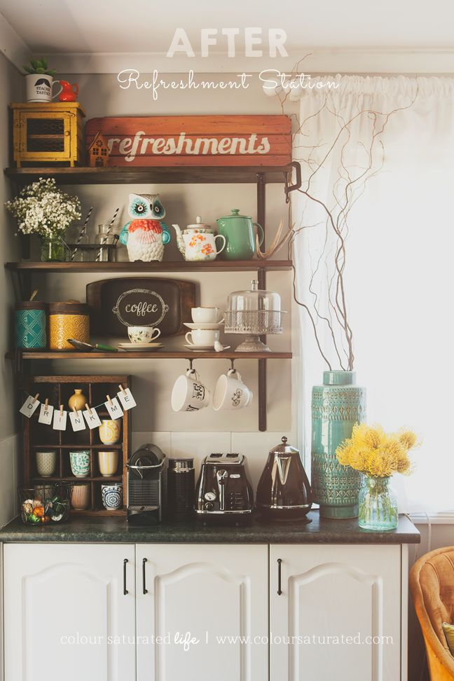 Our Home: Refreshment Station » Colour Saturated Life