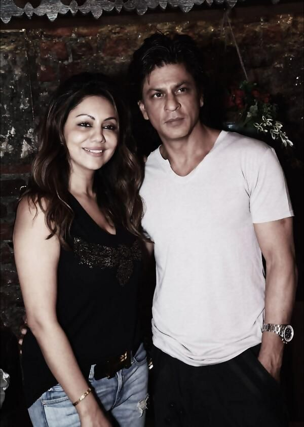 Shahrukh Khan and Gauri