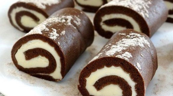 Chocolate cakes-rolls. | Will be delicious