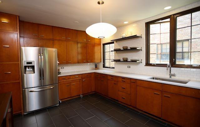 56 best mid century modern kitchen images on pinterest for Modern kitchen updates