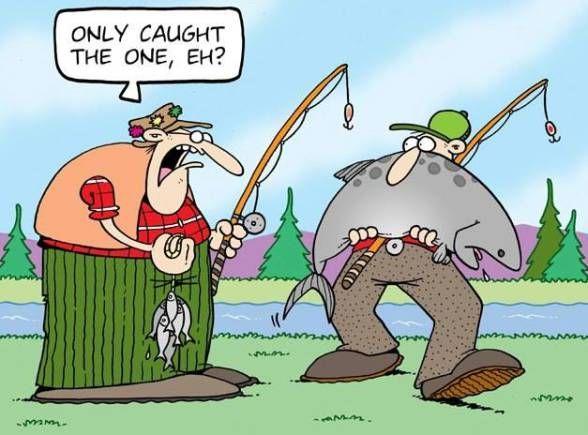 Tundra Comics Fishing Cartoon