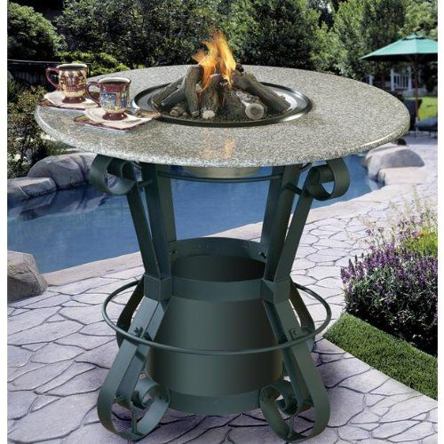 Bar Height Patio Table With Fire Pit Woodworking