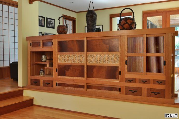 японская мебель, комод тансу, антиквариат